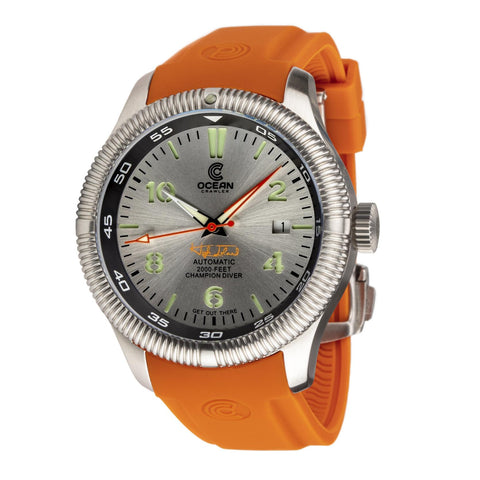 Ocean Crawler Champion Diver - Silver - Ocean Crawler Watch Co.