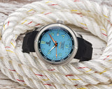 Ocean Crawler Champion Diver - Teal - Ocean Crawler Watch Co.