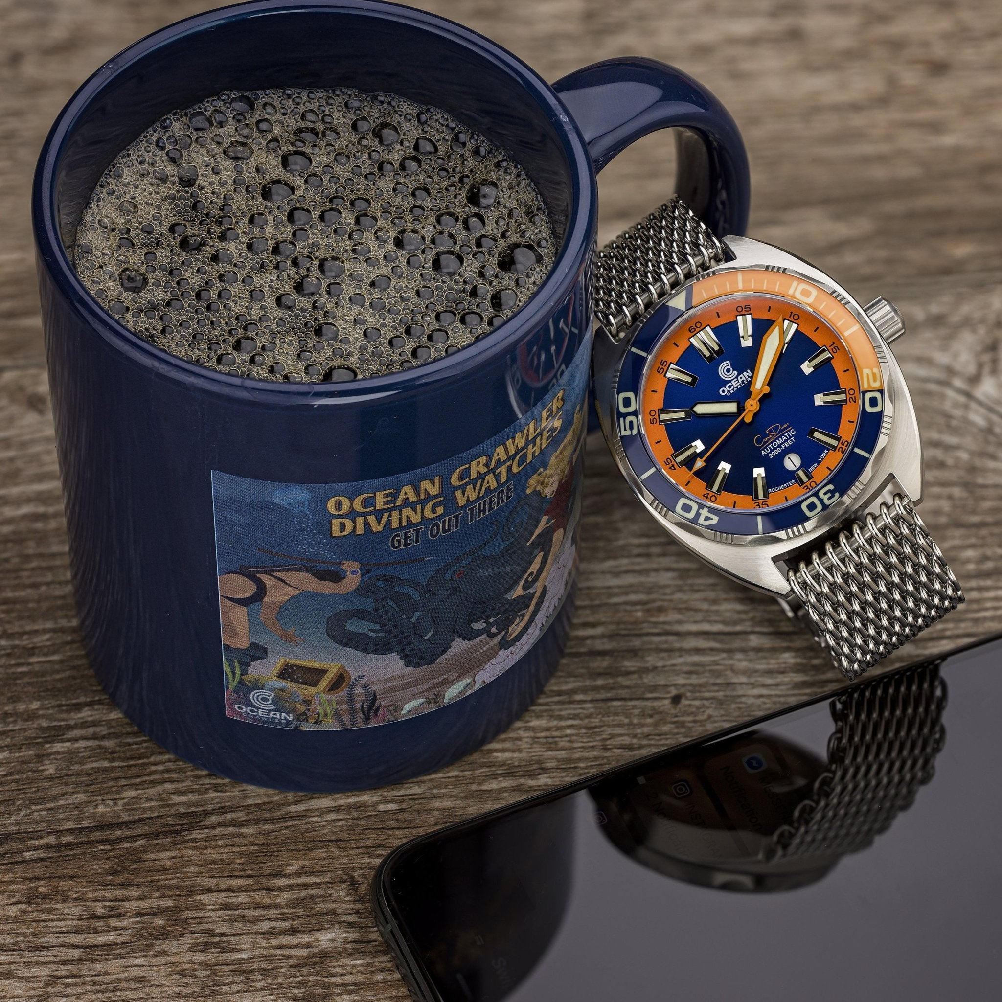 Ocean Crawler Coffee Mug - Ocean Crawler Watch Co.