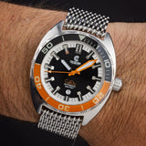 Ocean Crawler Core Diver - Black/Orange - Ocean Crawler Watch Co.