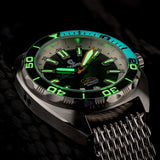 Ocean Crawler Core Diver - Black/White v3 - Ocean Crawler Watch Co.