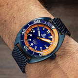 Ocean Crawler Core Diver - Blue Steel v3 - Ocean Crawler Watch Co.