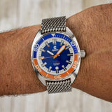 Ocean Crawler Core Diver - Blue/Orange - Ocean Crawler Watch Co.