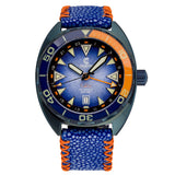 Ocean Crawler Core Diver GMT v2 - Blue Steel DLC - Ocean Crawler Watch Co.
