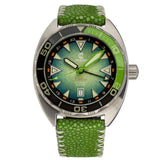 Ocean Crawler Core Diver GMT v2 - Green/Green - Ocean Crawler Watch Co.