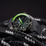 Ocean Crawler Core Diver - Green DLC - Ocean Crawler Watch Co.