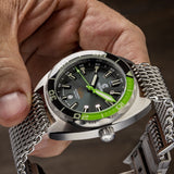 Ocean Crawler Core Diver - Green/Black v3 - Ocean Crawler Watch Co.