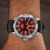 Ocean Crawler Dream Diver - Red - Ocean Crawler Watch Co.