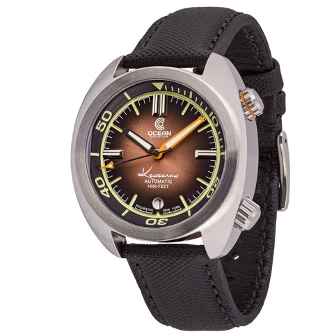 Ocean Crawler Great Lakes - Gradient Brown V2 - Ocean Crawler Watch Co.