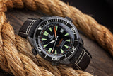 Ocean Crawler Ocean Navigator - DLC - Black - Preorder - Ocean Crawler Watch Co.