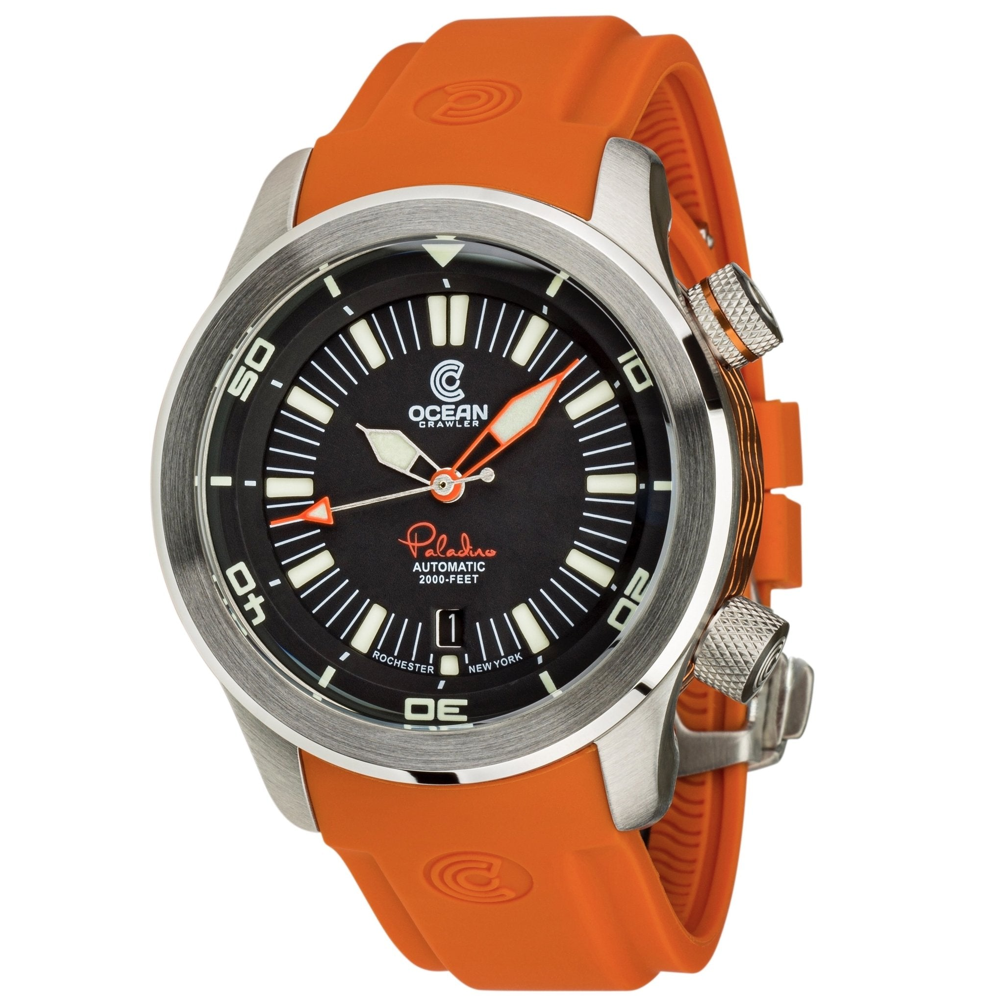 Ocean Crawler Paladino WaveMaker - Black - Ocean Crawler Watch Co.