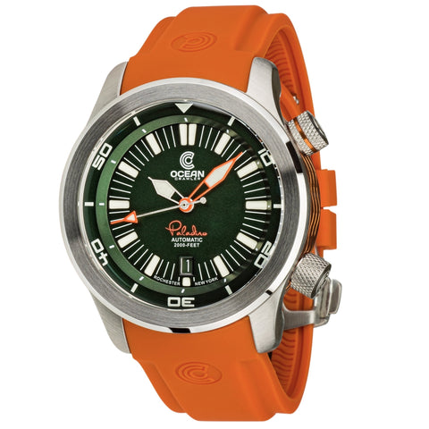 Ocean Crawler Paladino WaveMaker - Green - Ocean Crawler Watch Co.