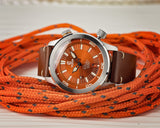 Ocean Crawler Paladino WaveMaker - Orange - Ocean Crawler Watch Co.