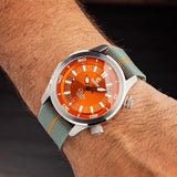 Ocean Crawler Paladino WaveMaker Orange - Ocean Crawler Watch Co.