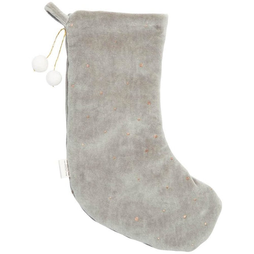 Dreamy Christmas Stocking - Icy Grey