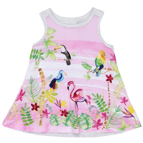 Aloha Tropical Birds Dress