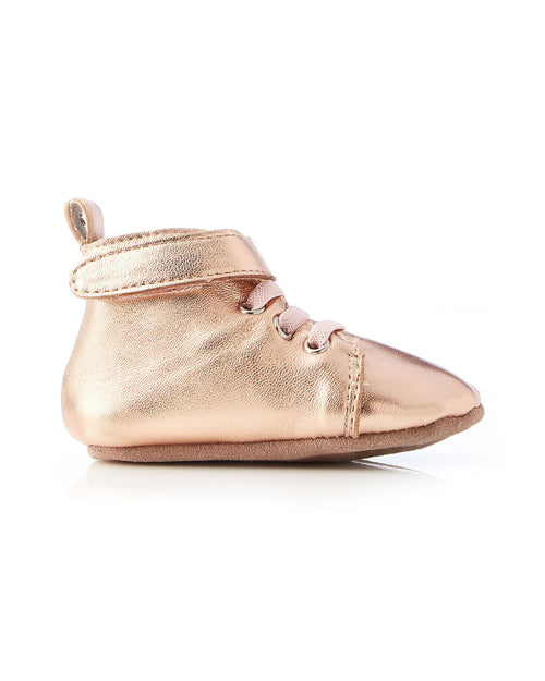 Hunter Baby Bootie Rose Gold