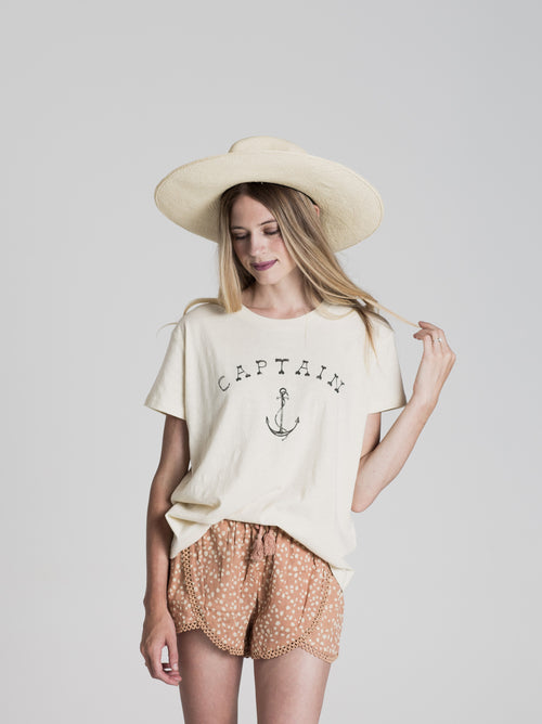 Women's Basic Tee - Captain