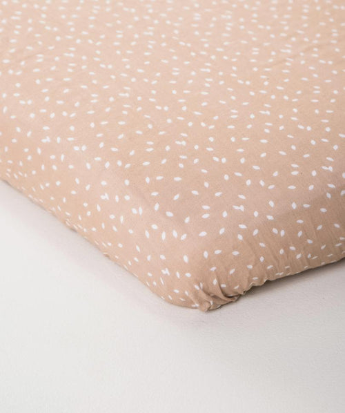 Organic Cotton Crib Sheet - Scatter