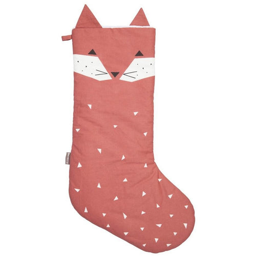 Animal Christmas Stocking - Fox