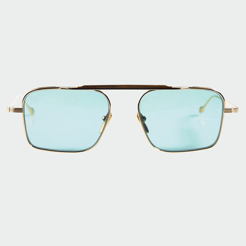Jacques Marie Mage Scarpa Gold Sunglasses