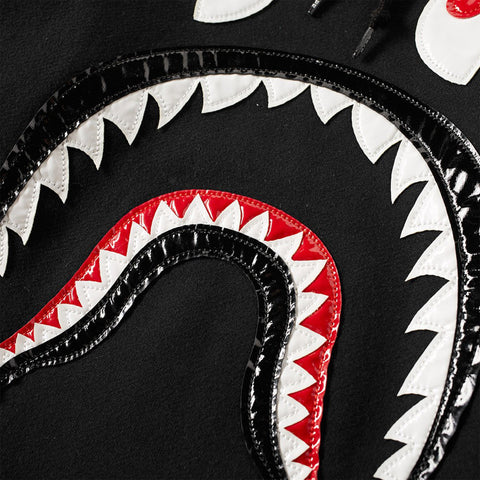 Patent Shark Pullover Hoodie