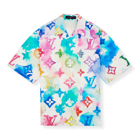 Louis Vuitton Multicoloured Watercolour Shirt