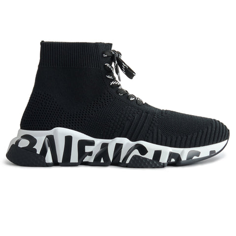 Image of Balenciaga Speed Lace Graffiti Sneaker