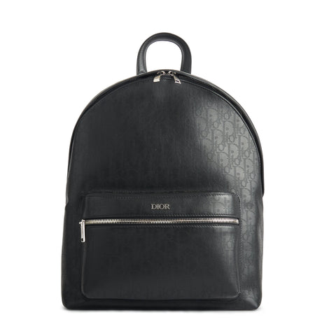 Image of Dior Oblique Galaxy Leather Rider Backpack