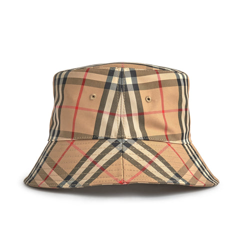 Image of Burberry Check Bucket Hat