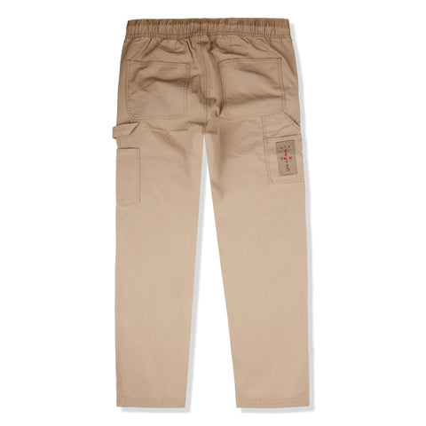 Image of Jordan x Travis Scott Desert Khaki Canvas Pants