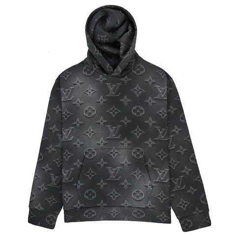 Louis Vuitton 2054 Monogram Black Hoodie