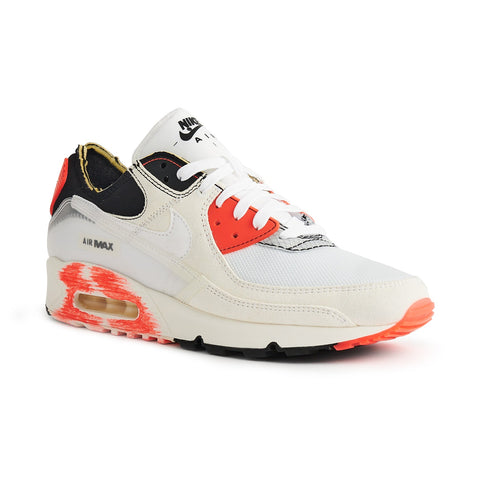 Nike Air Max 90 III PRM White Black Crimson