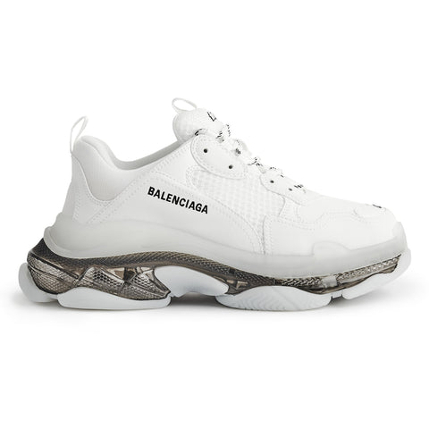 Balenciaga Triple S Sneaker White Clear Sole