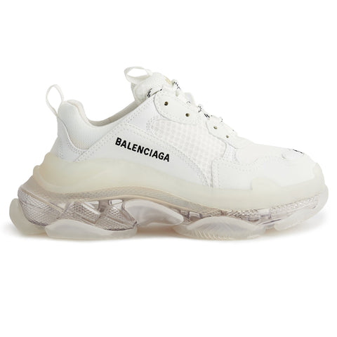 Balenciaga Triple S Sneaker Polar White Clear Sole