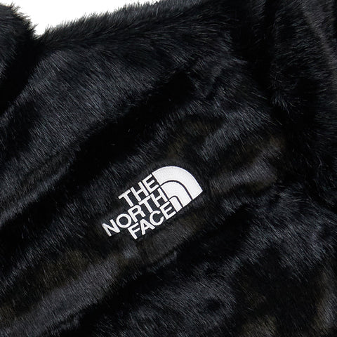Supreme x The North Face Faux Fur Nuptse Jacket Black