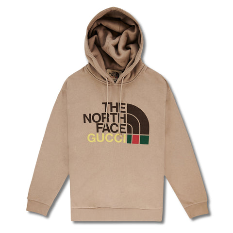 Gucci x The North Face Brown Hoodie