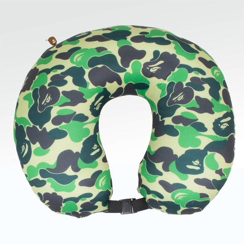 A Bathing Ape ABC 2 way neck pillow Green
