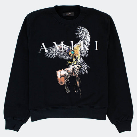 Amiri Falcon Black Sweatshirt