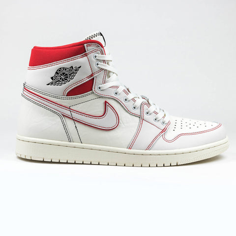 7eb10bcc6d00 Nike Air Jordan 1 Retro High Phantom White University Red – Crepslocker
