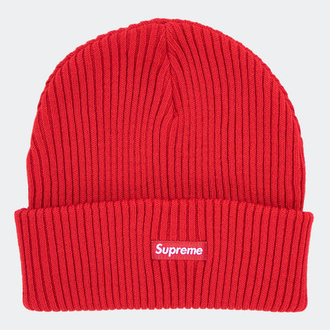 Supreme Wide Rib Beanie Red