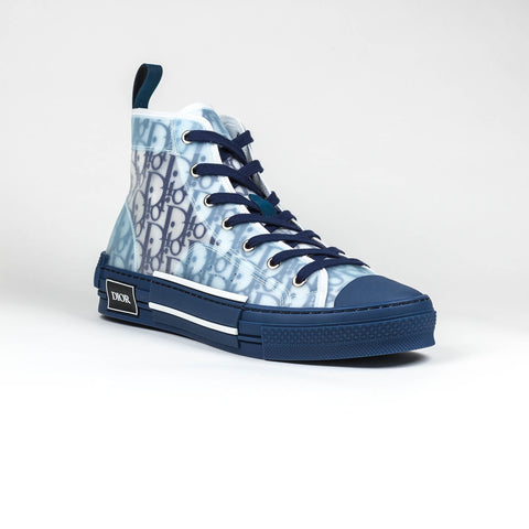 Dior B23 Dior Oblique High Blue Sneaker