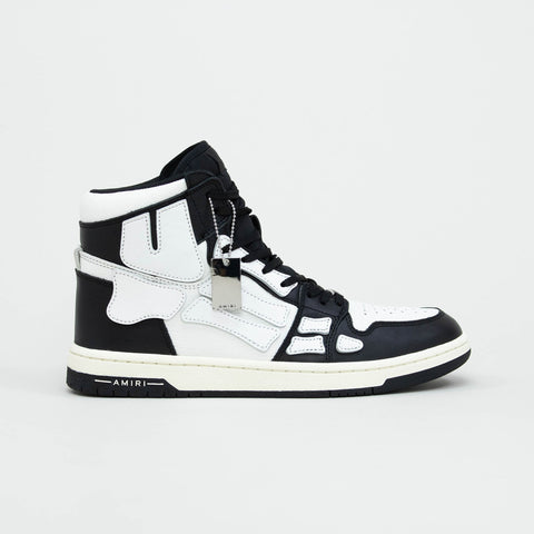 Amiri Skeleton Black High Top Sneaker