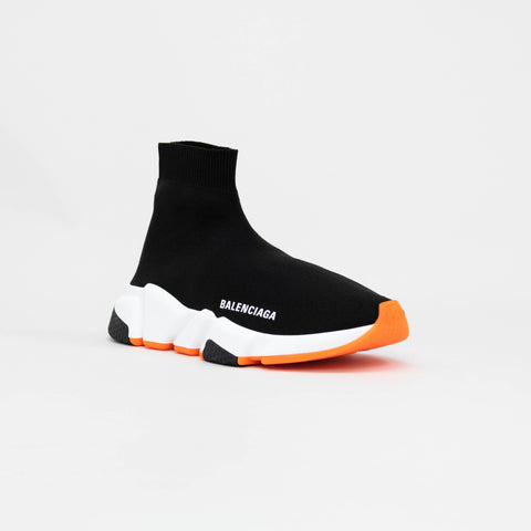 Balenciaga Speed Knit Sock Black Orange