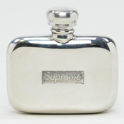 Supreme Pewter Mini Silver Flask