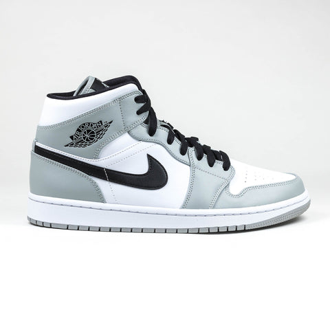 Air Jordan 1 Mid Light Smoke Grey Sneaker