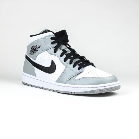 Nike Air Jordan 1 Mid Light Smoke Grey Sneaker