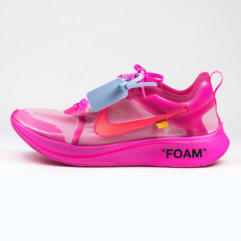 Nike x Off White Zoomfly Pink