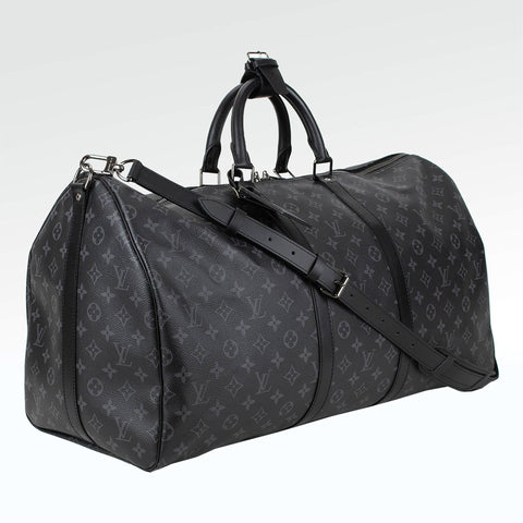 Louis Vuitton Monogram Eclipse Keepall 55