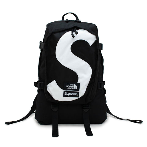Supreme x The North Face Logo Expedition Black Backpack